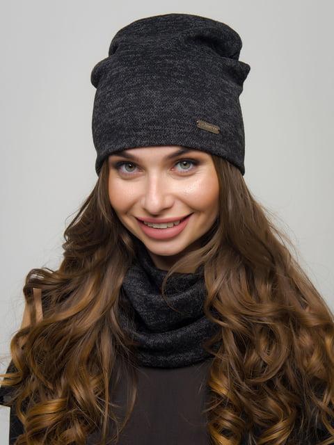 Комплект: шапка та шарф-хомут First Land Fashion 4772851