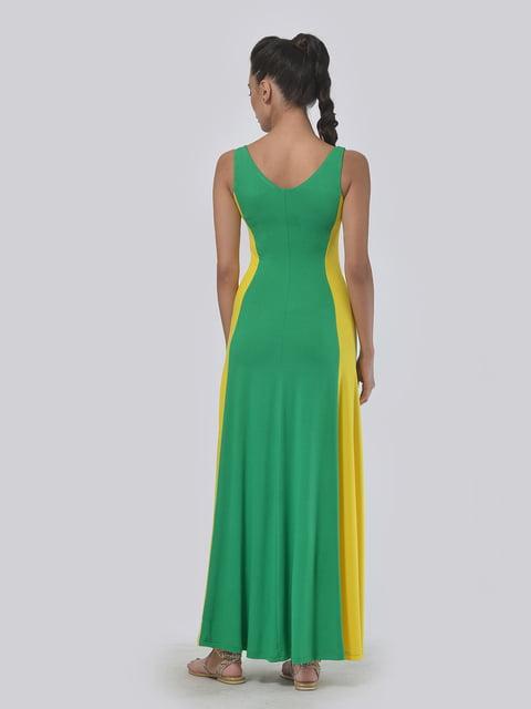 Платье желто-зеленое AGATA WEBERS 4767825