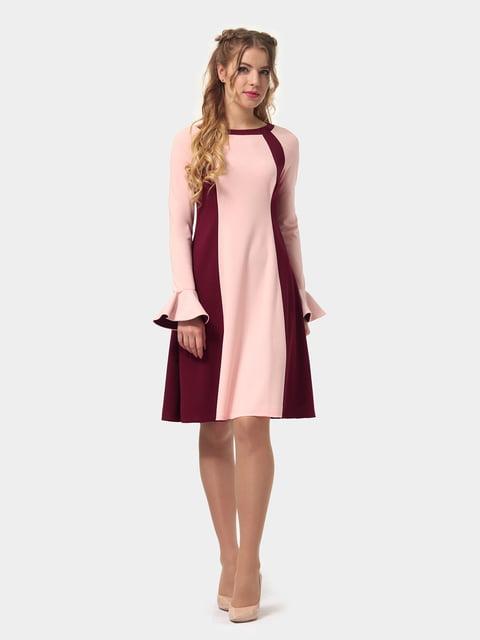 Платье двухцветное LILA KASS 4775675