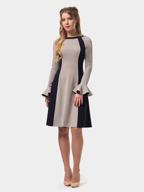 Платье двухцветное LILA KASS 4775677