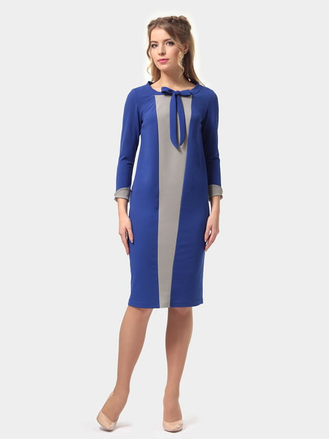 Платье двухцветное LILA KASS 4775683