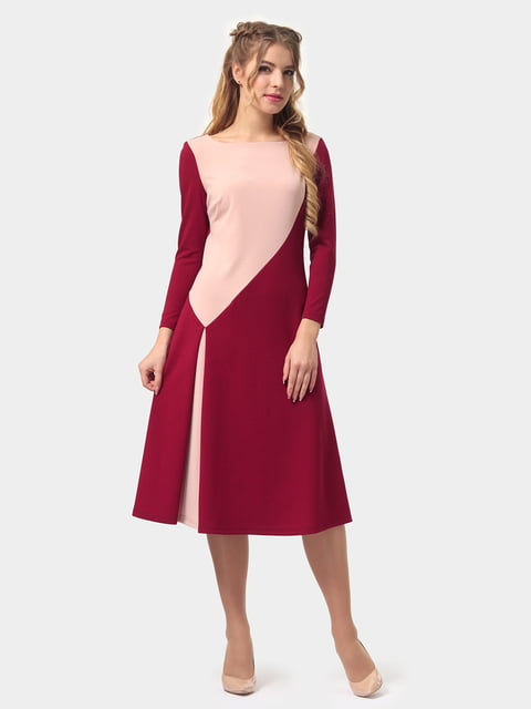 Платье двухцветное LILA KASS 4775691