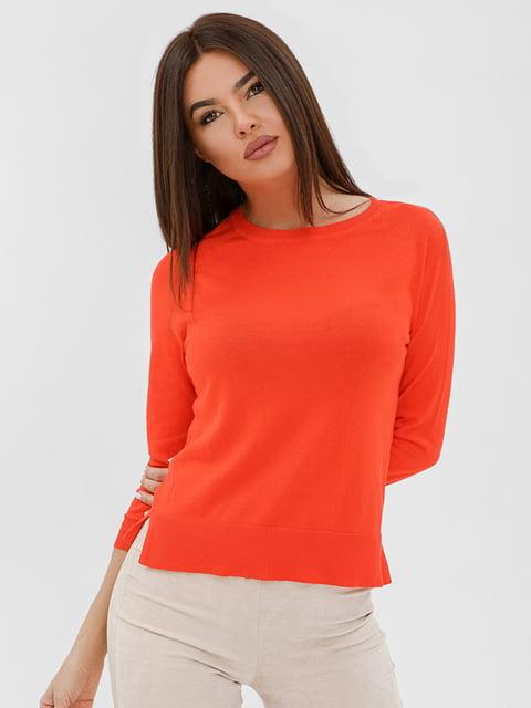 Джемпер оранжевый Gepur 4758918
