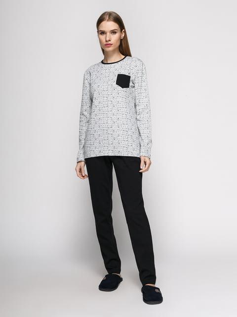Пижама: лонгслив и брюки PERRITO 4767929