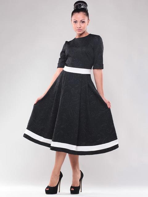 Сукня чорно-білого кольору Maurini 4767176