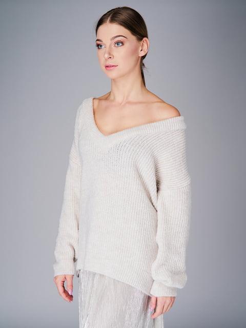 Пуловер молочного цвета G-Rom 4778475