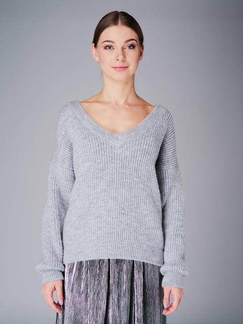 Пуловер серый G-Rom 4778476
