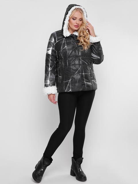 Куртка чорна WELLTRE 4781716