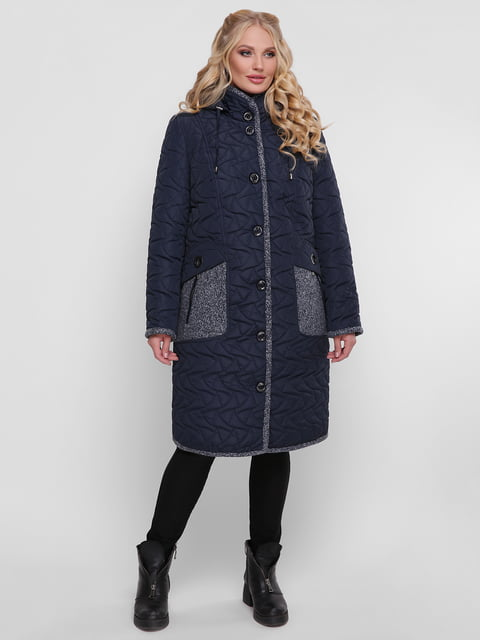 Пальто синє WELLTRE 4781719