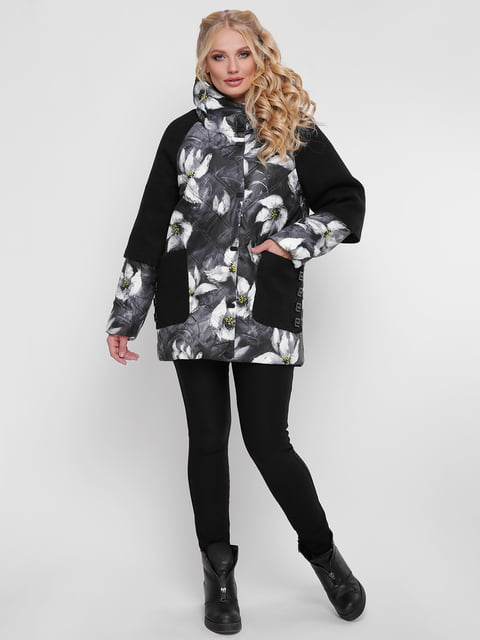 Куртка в квітковий принт WELLTRE 4781726
