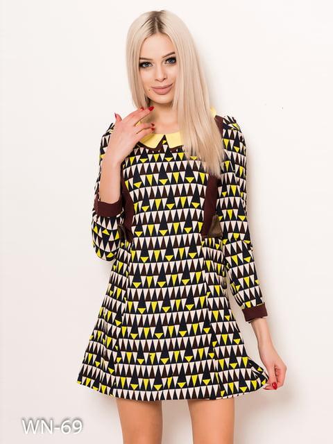 Сукня в принт Magnet 4782327