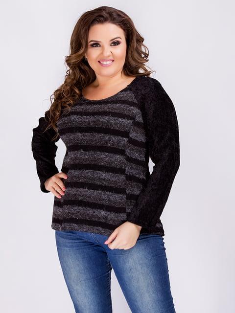 Джемпер черный Мисс мода 4712573