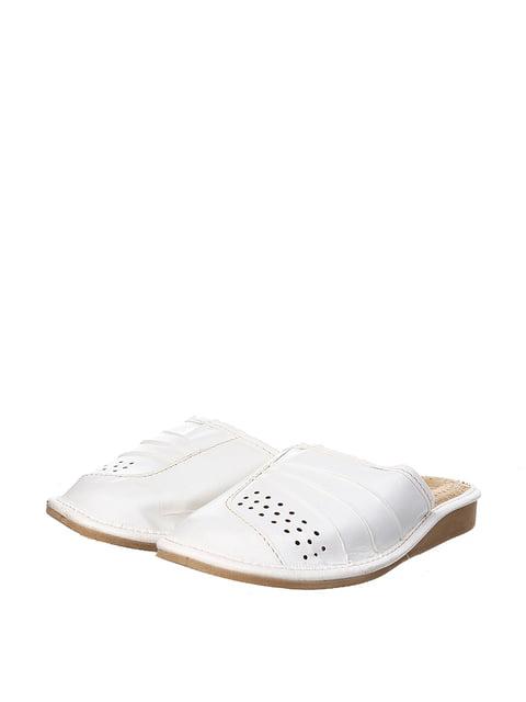 Тапочки белые Nowbut 4599491