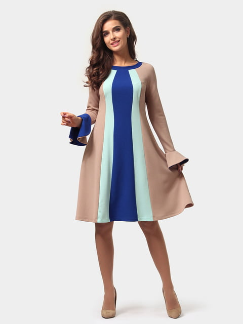 Платье трехцветное AGATA WEBERS 4784897