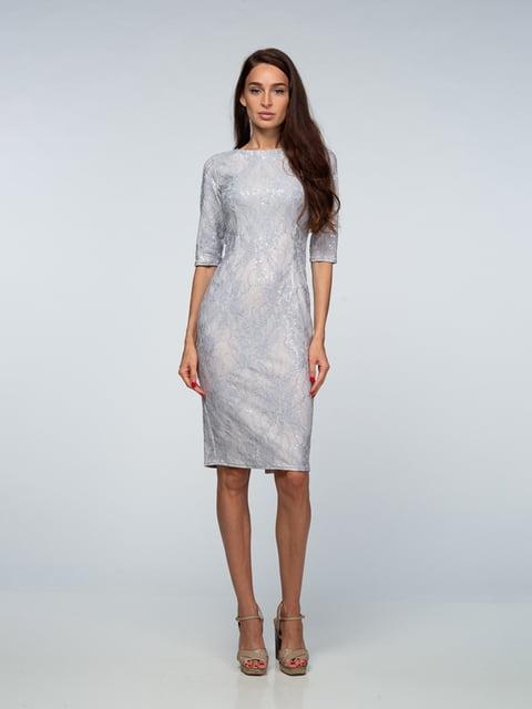 Платье серое AERIN 4785447