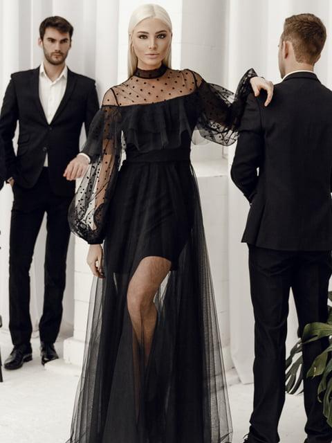 Платье черное Gepur 4788169