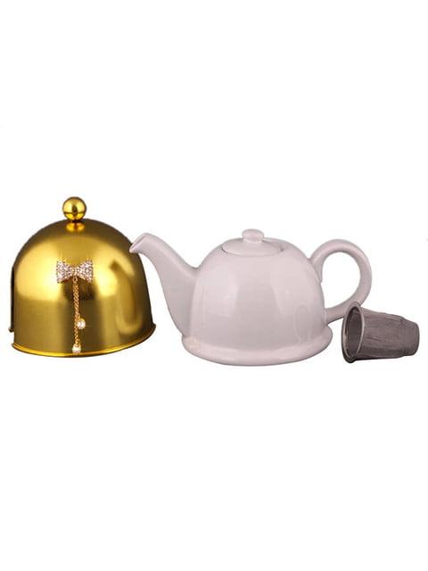 Чайник заварювальний з ковпаком «Метелик» (800 мл) Arti-m 4788199