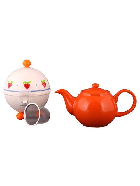 Чайник заварювальний з ковпаком «Полуничка» (750 мл) Arti-m 4788204