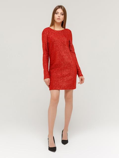 Платье красное MarieM 4784532
