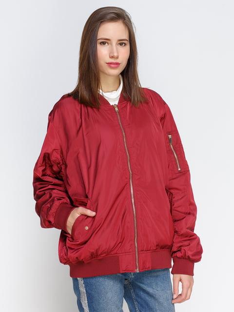Бомбер бордовый H&M 4780193