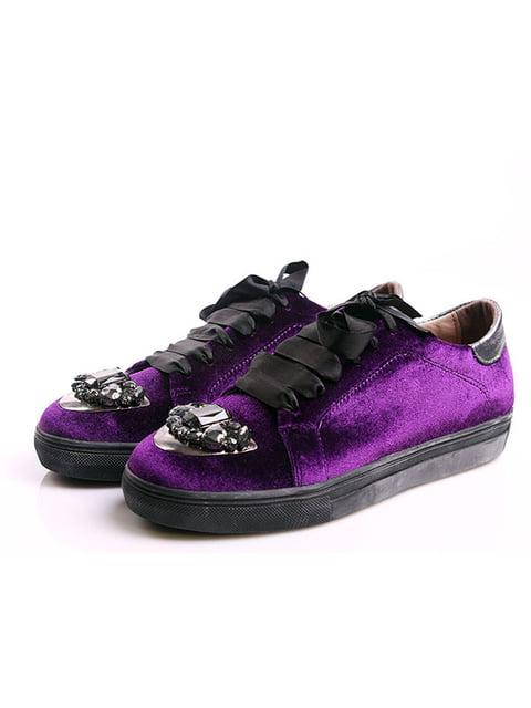 Кеды фиолетовые Халил 4777966
