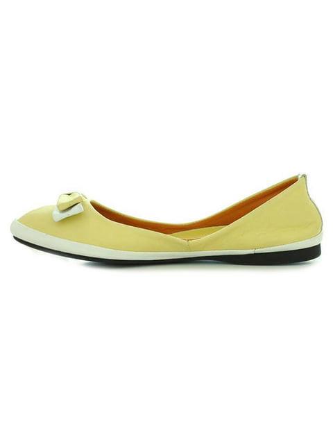 Балетки желтые Viscala 4791573