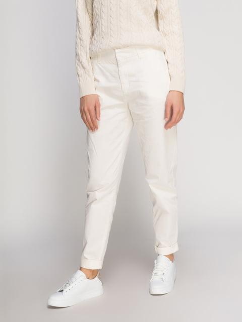 Брюки белые H&M 4776281