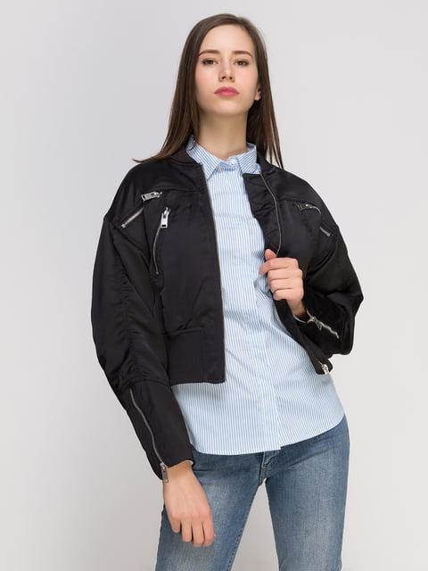 Куртка чорна H&M 4775967