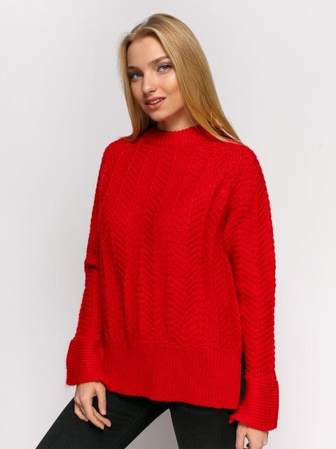 Джемпер червоний H&M 4775225