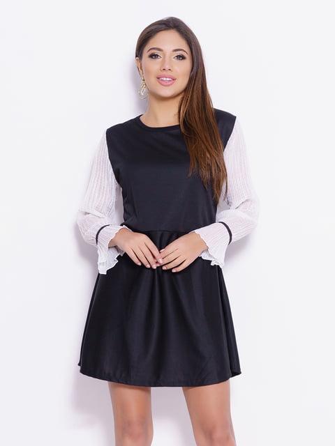 Платье черно-белое Magnet 4782226