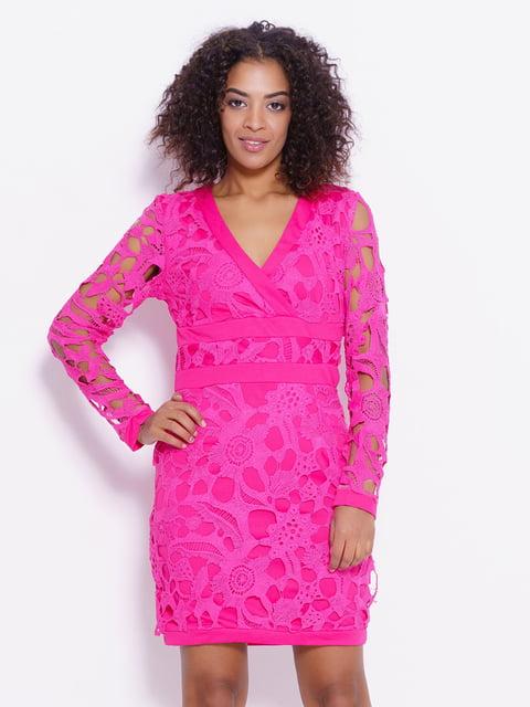Платье малиновое Magnet 4782243