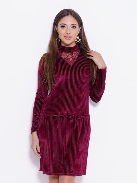 Сукня бордова Magnet 4782256