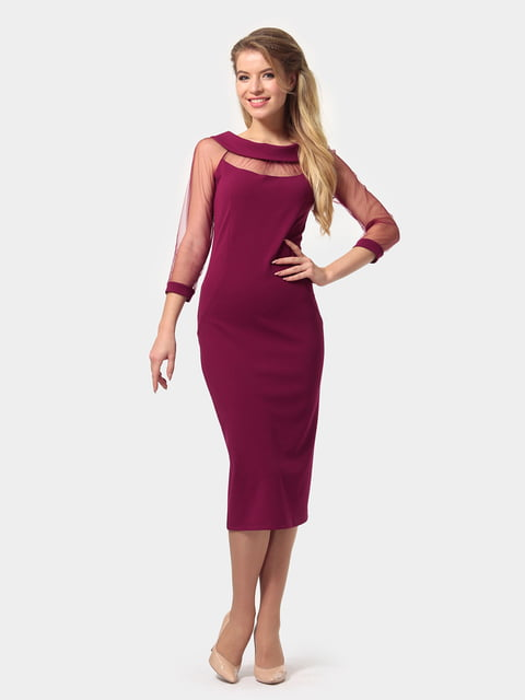 Платье цвета фуксии LILA KASS 4794777