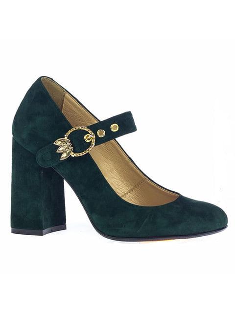 Туфли зеленые Kluchini 4798035