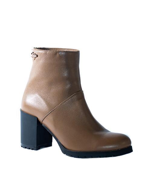 Ботинки коричневые Kluchini 4798069