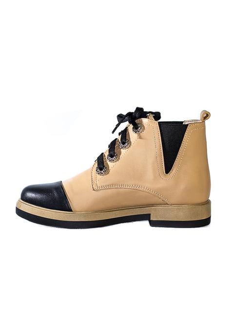 Ботинки бежевые Kluchini 4798085