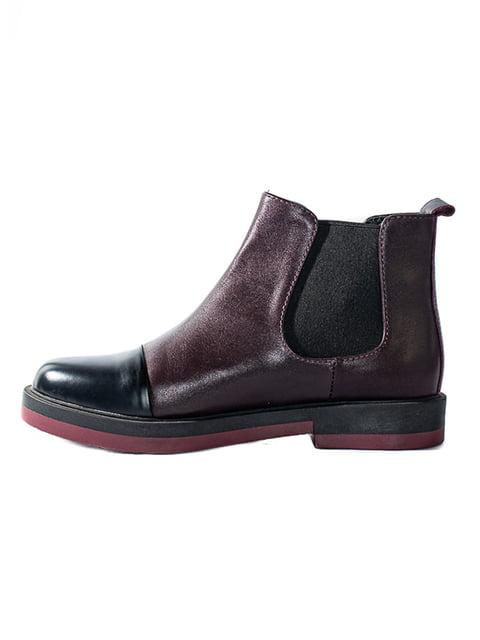Ботинки бордовые Kluchini 4798087