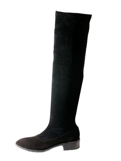 Сапоги черные Kluchini 4798099
