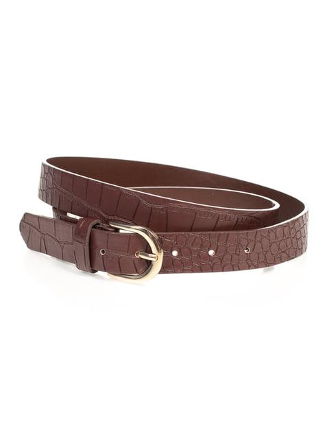 Ремінь коричневий Pull&Bear 4647098