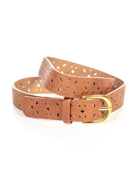 Ремінь коричневий Pull&Bear 4647061