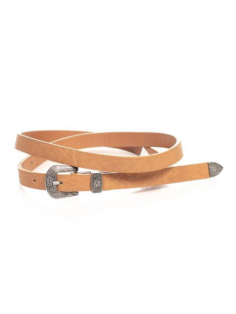Ремінь коричневий Pull&Bear 4647137