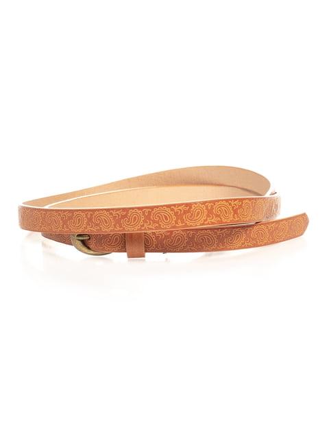 Ремінь коричневий Pull&Bear 4647094