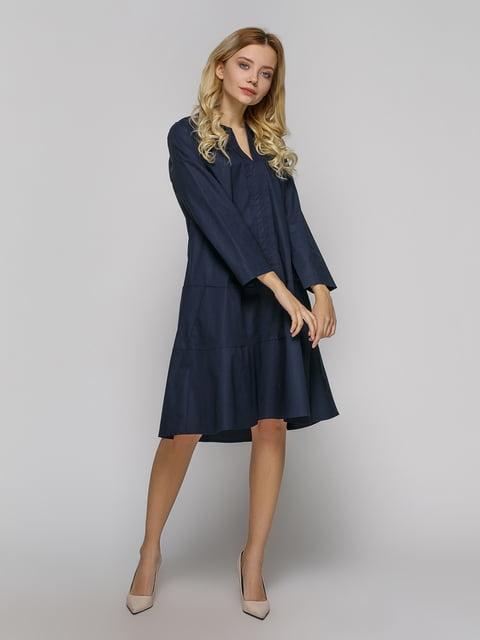 Сукня темно-синя Grace & Clory 4794114