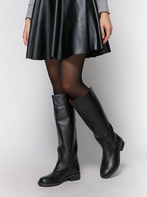 Сапоги черные NUBE 4781680