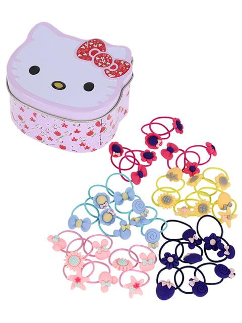 Набор резинок для волос Hello Kitty (40 шт.) Traum 4799959