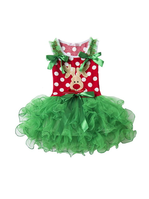 Платье в горошек с принтом BEISIQINA 4808469