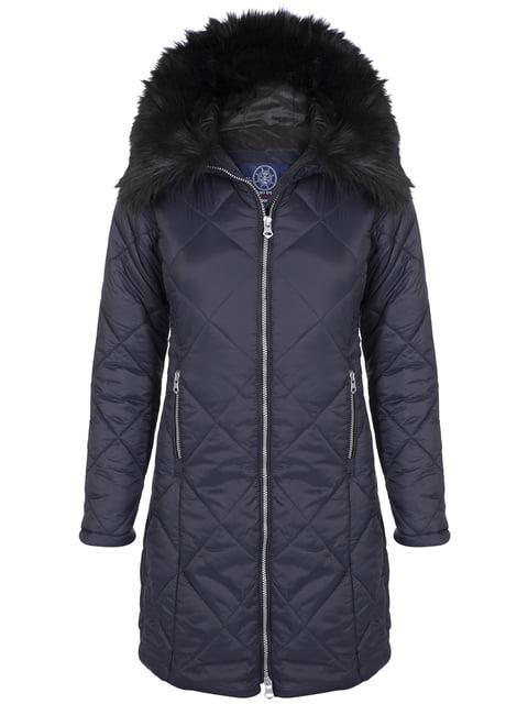 Пальто темно-синє Giorgio di Mare 4808382