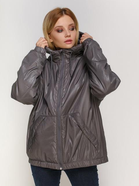 Куртка асфальтового кольору H&M 4780202