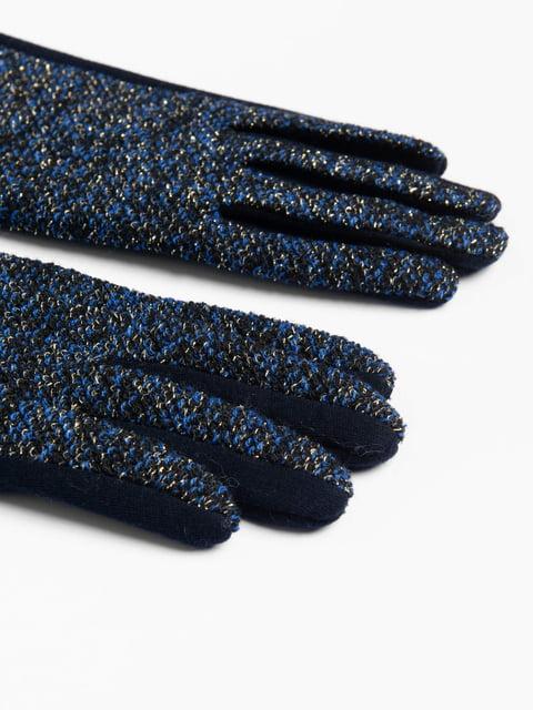 Перчатки темно-синие Orsay 4710751