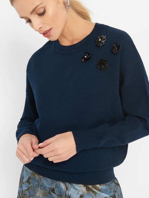 Джемпер темно-синий Orsay 4761376